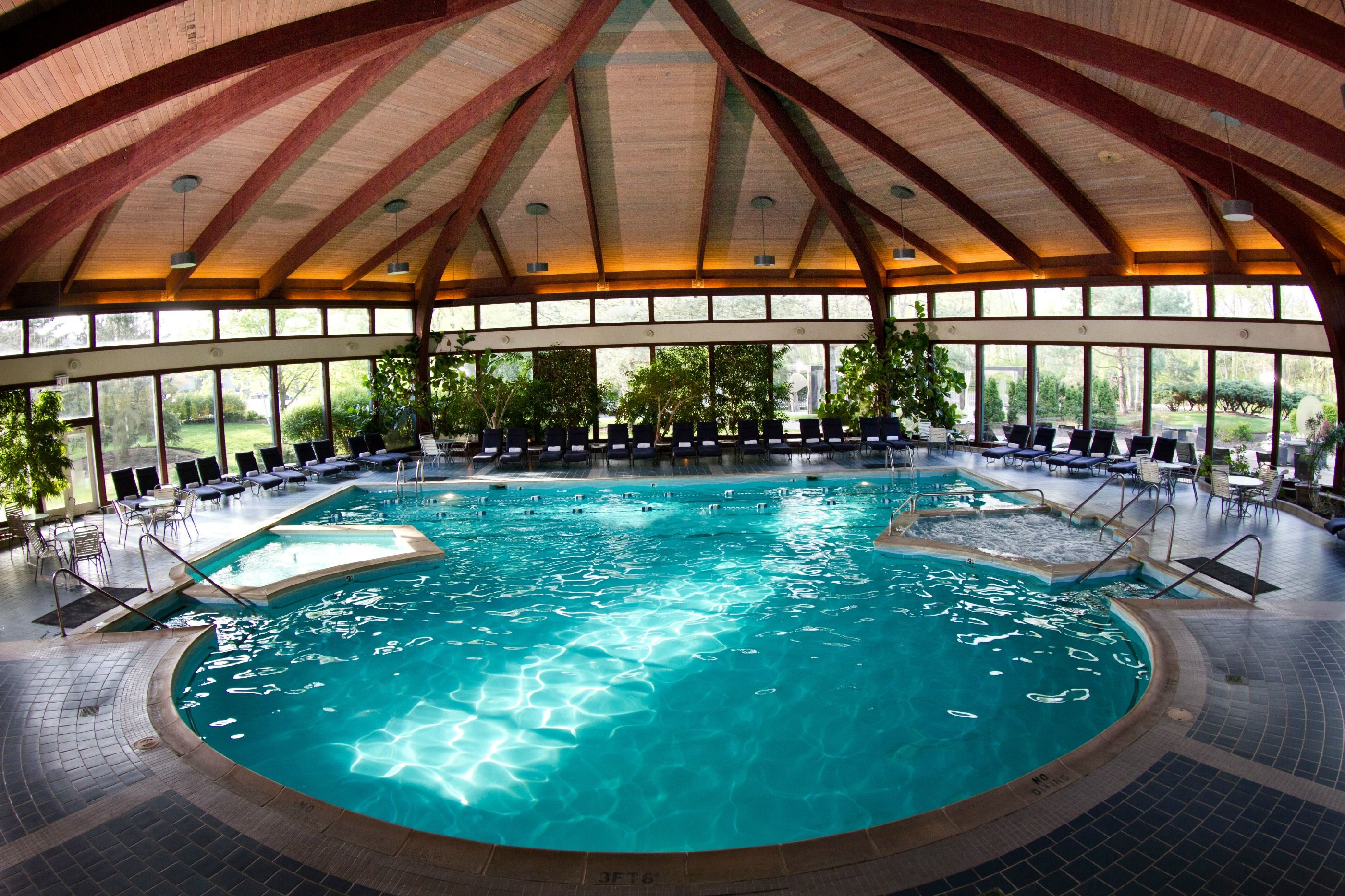 The Beautiful Avani Spa Atrium Pool Chicago Weekend Getaway Best Weekend Getaways Lake Geneva