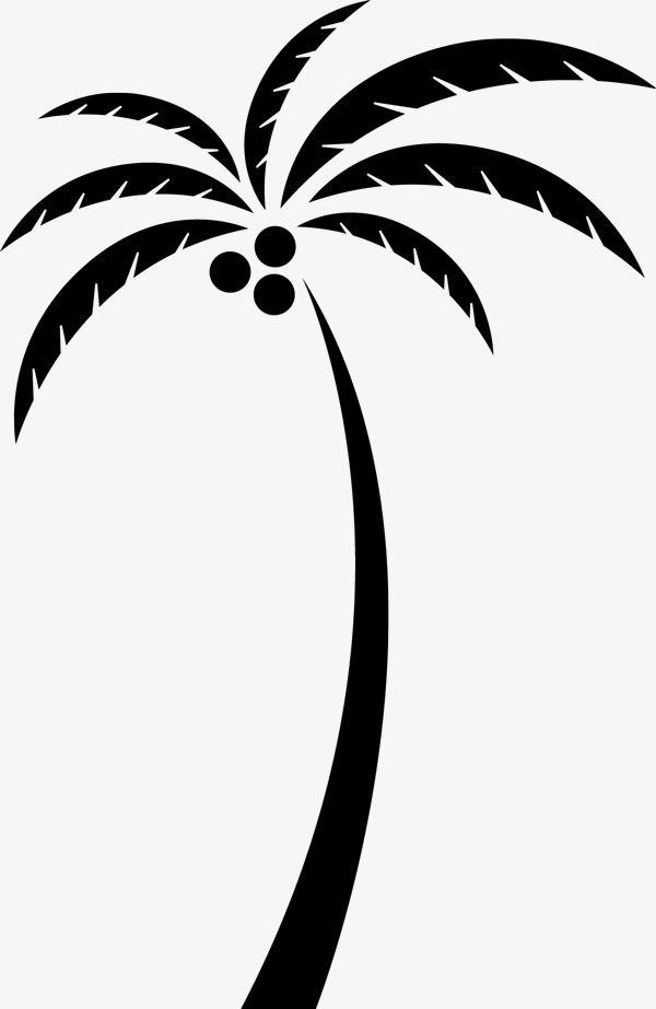 Coconut Tree Silhouette Tree Silhouette Coconut Tree Tree Clipart