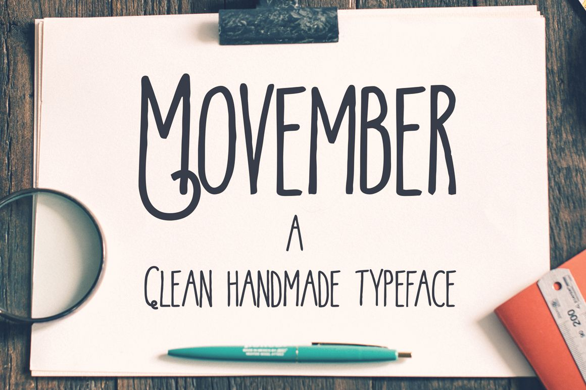 Movember Clean by Alterdeco Inc. on Creative Market
