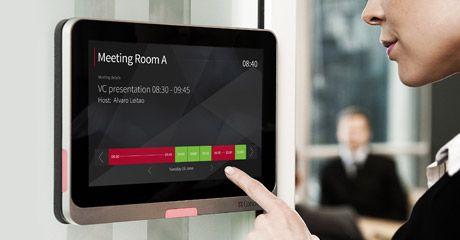 Digital meeting room booking/signage | New Office Wishlist ...