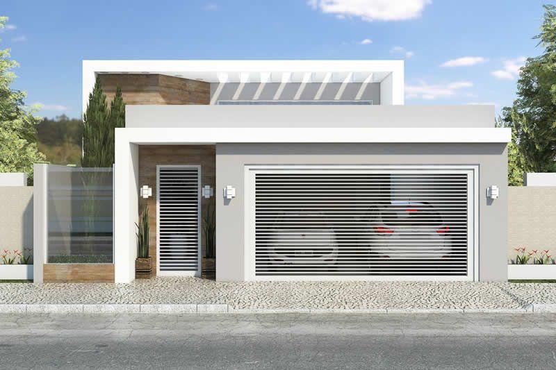 Planta De Casa Com 3 Quartos Projetos De Casas Modelos