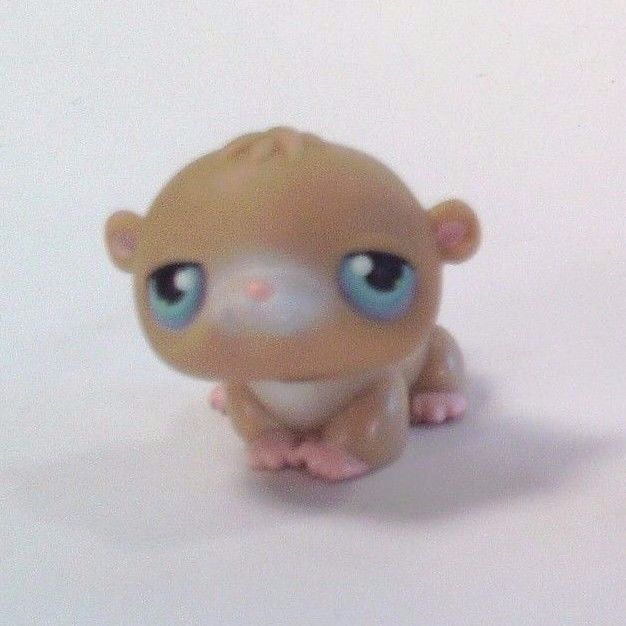 Littlest Pet Shop LPS Hasbro Figure #45 Hamster