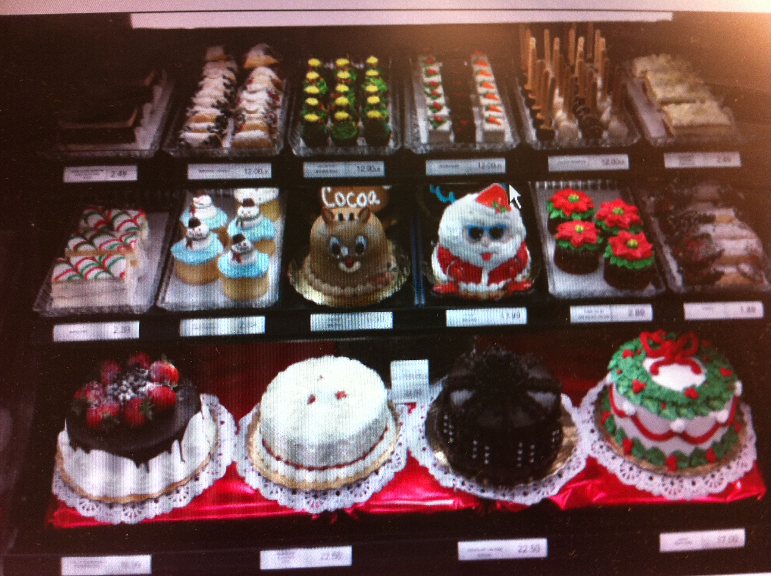 Christmas At Publix Bakery