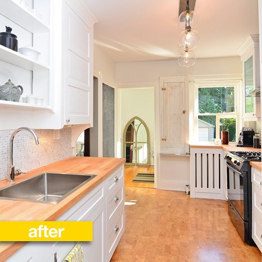 Kitchen Before After A Modern Makeover For A House On The Market Kitchen Remodel Kitschy Kitchen Kitchen Design
