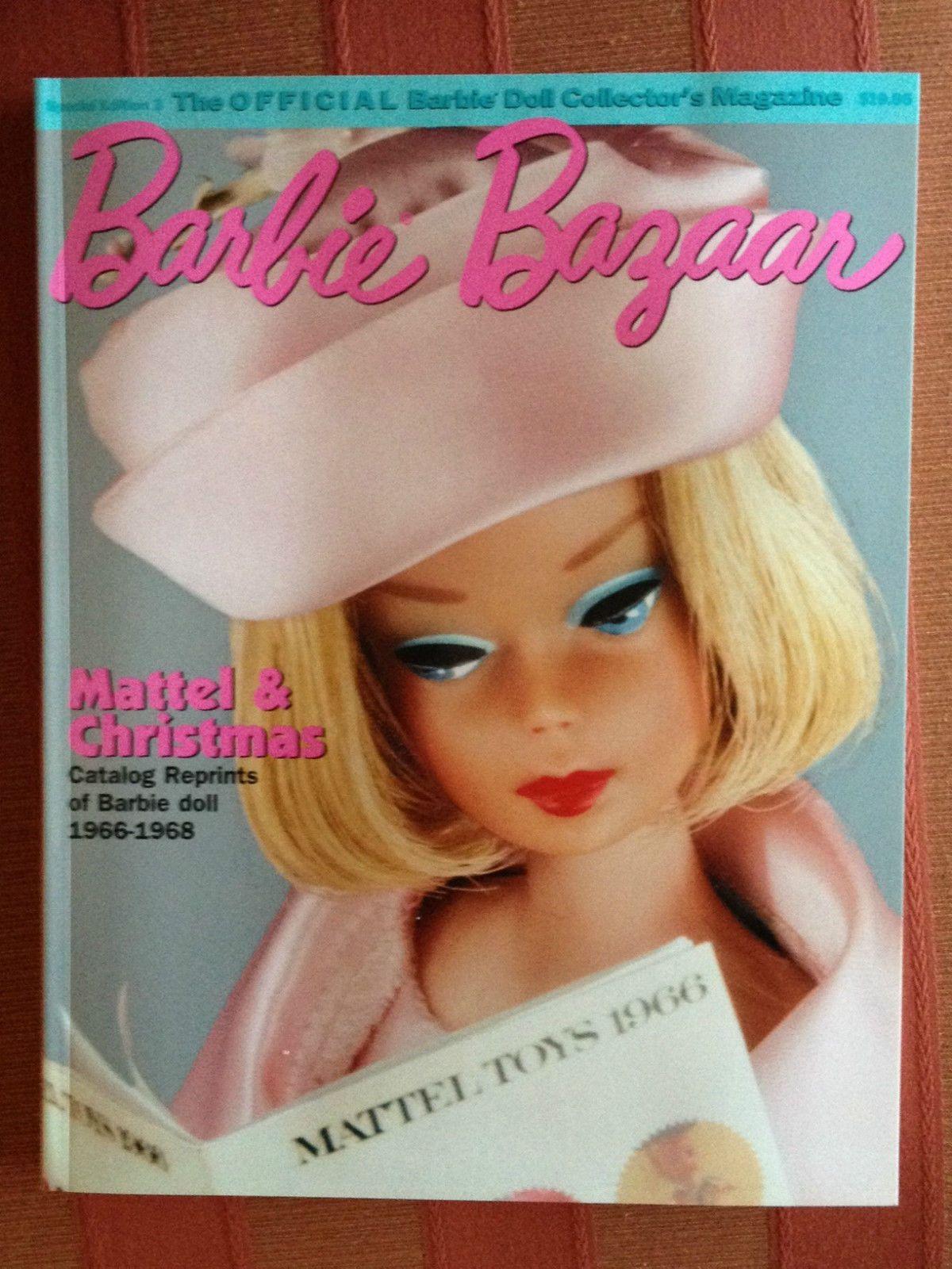 NEW COPY BARBIE BAZAAR SPECIAL ISSUE 3 MATTEL CATALOG REPRINTS 1966-1968