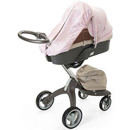 Amazon Com Stokke Stroller Summer Kit Faded Pink Baby