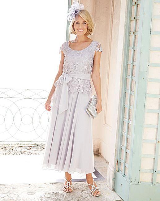fb7e06f0dde Nightingales Lace and Chiffon Dress
