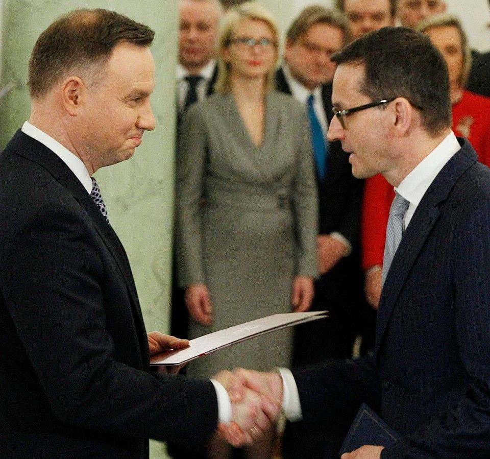 Poland's rightwing government has a new prime minister
