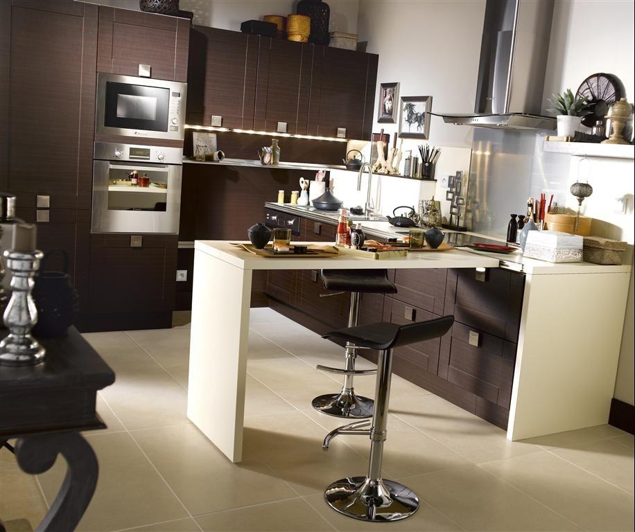 cusine en angle avec retour maison d coration. Black Bedroom Furniture Sets. Home Design Ideas