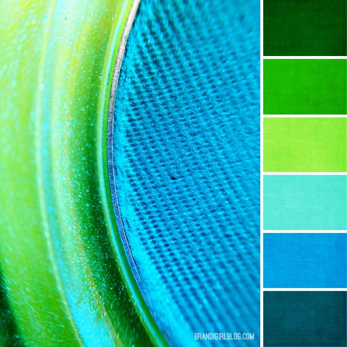 Color Palette 167 Closeup Eyeshadow Brandi Girl Blog Color