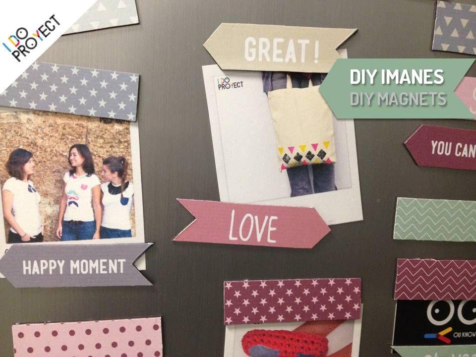 DIY imanes- Haz tus propios imanes con este DIY para decorar tu ...