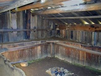 Pleasant Yurok Plank House Pit Interior Architecture Longhouse Best Image Libraries Counlowcountryjoecom