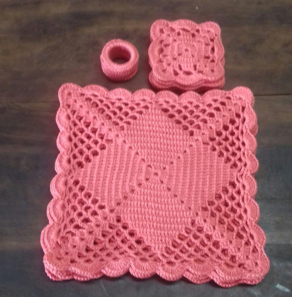 Guardanapo De Crochê Tutoriais E Gráficos Sousplat De Croche Quadrado Quadrados De Croche Suplat De Croche