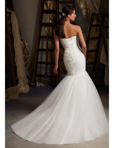 Mori Lee 5108 Quick Delivery Wedding Dress Ruched Wedding Dress Wedding Dresses Bridal Wedding Dresses