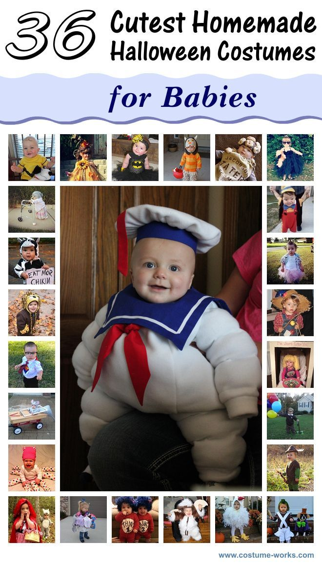 36 Cutest Homemade Halloween Costumes for Babies. Disfraces Para ... eb9f304407f4