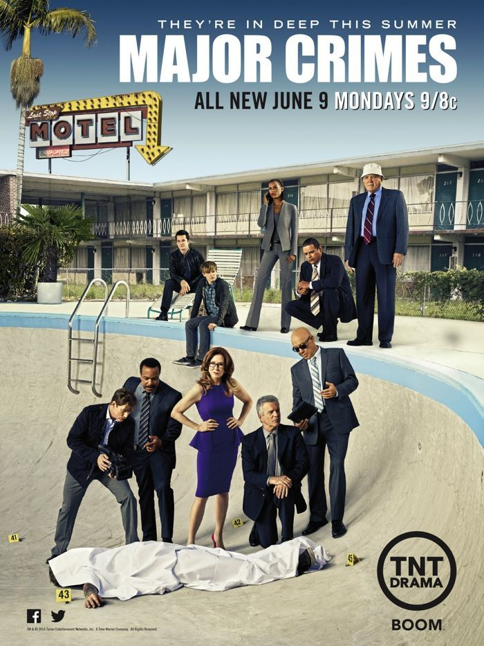 Major Crimes Season 3 Poster Seat42f Major Crimes Crime Crime Movie