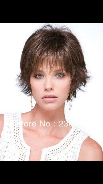 Short Hair With Wispy Bangs Short Thin Hair Thin Hair Haircuts Haircuts For Fine Hair