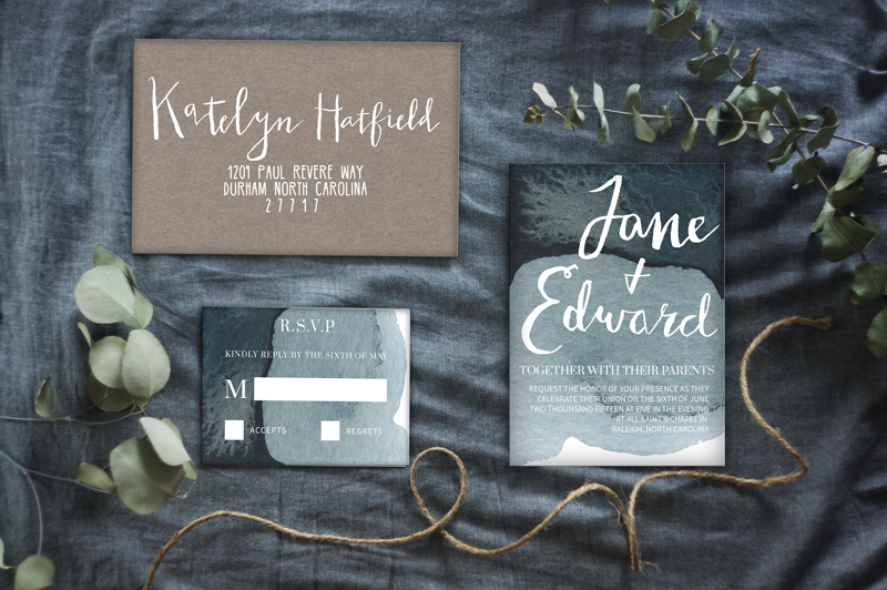 Mood Indigo Wedding Suite | Matrimony by Native State Design Co.