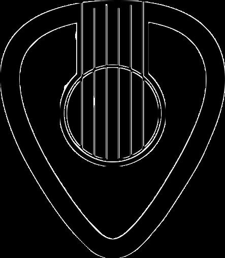 View Full Size Sound Tattoo Picks Guitar Pick Acoustic Hole Clipart Logo Pick Guitar Png Transparent Png An Guitar Tattoo Design Music Tattoos Guitar Tattoo