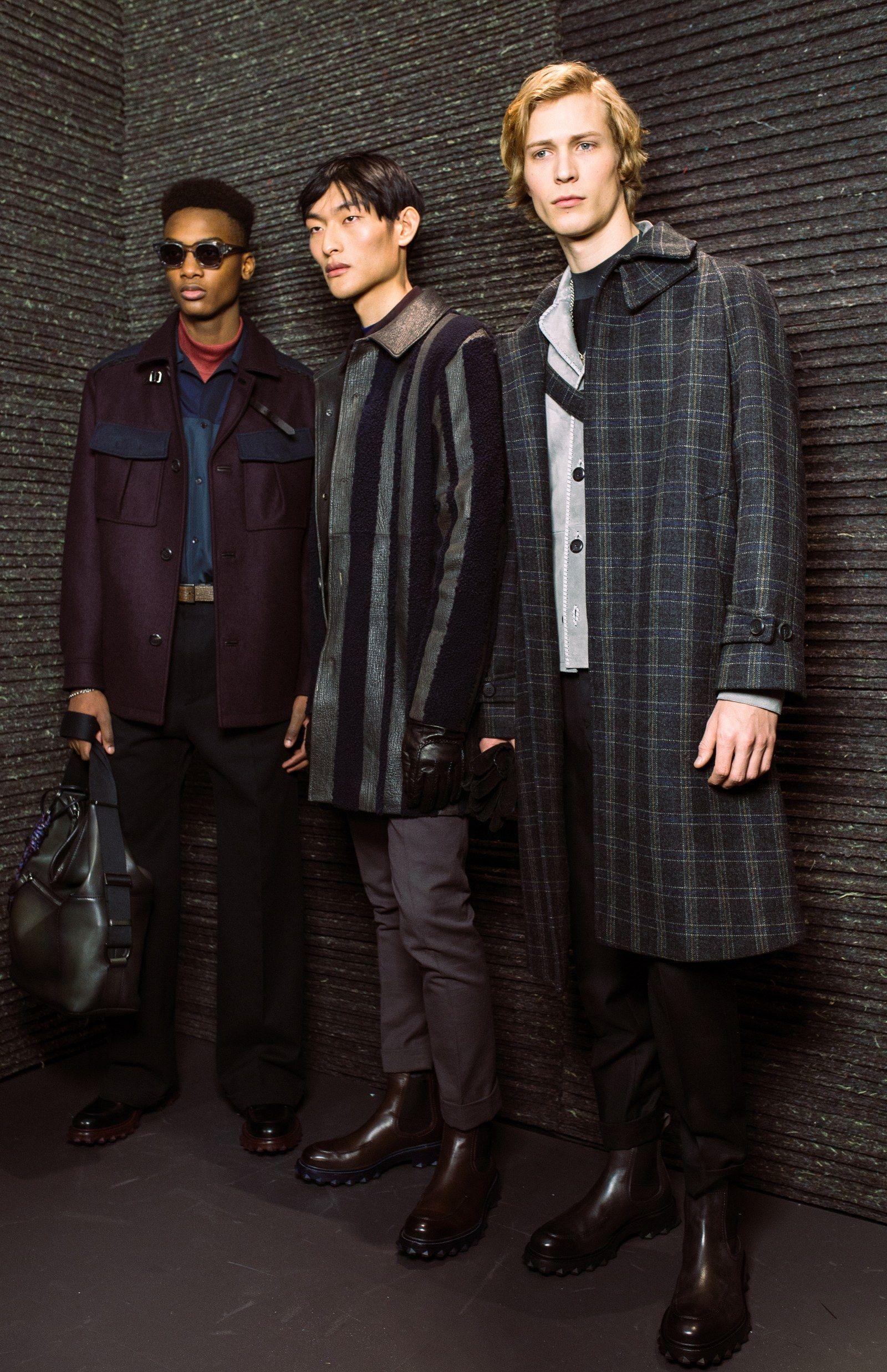Ferragamo's New Menswear Designer Makes His Debut in Milan Photos   W Magazine
