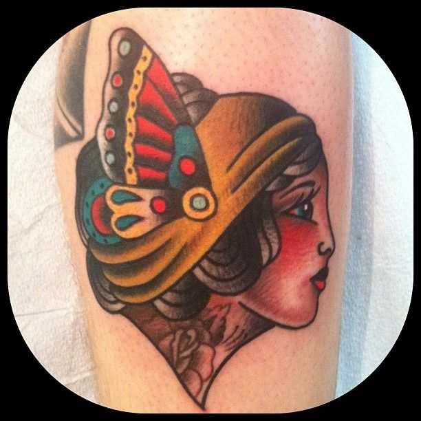 Jeremy Whitley as featured on Swallows & Daggers. www.swallowsndaggers.com #tattoo #tattoos #girl