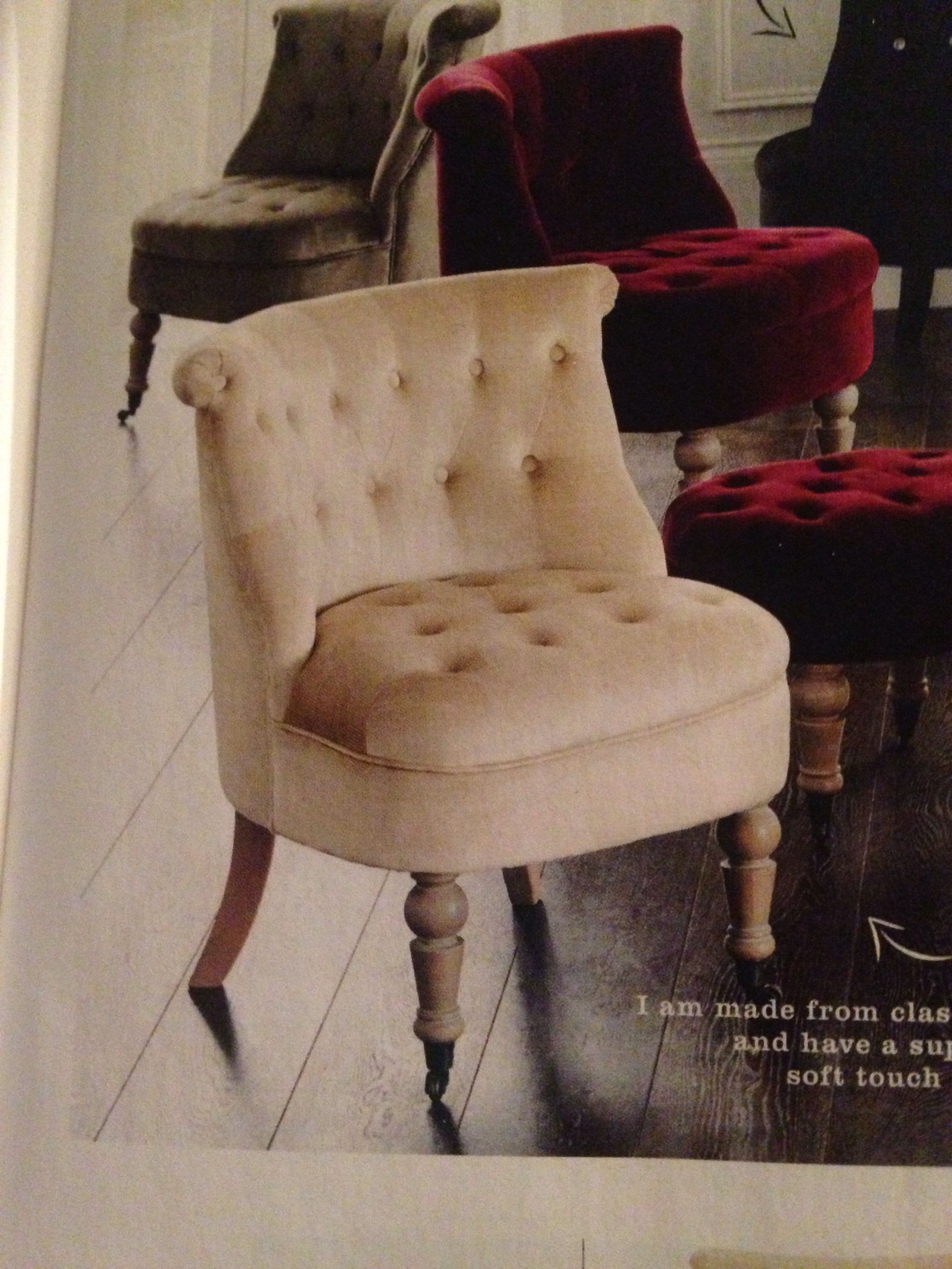 Next Home Wear Chair Silver Velvet Love It Chair Next At