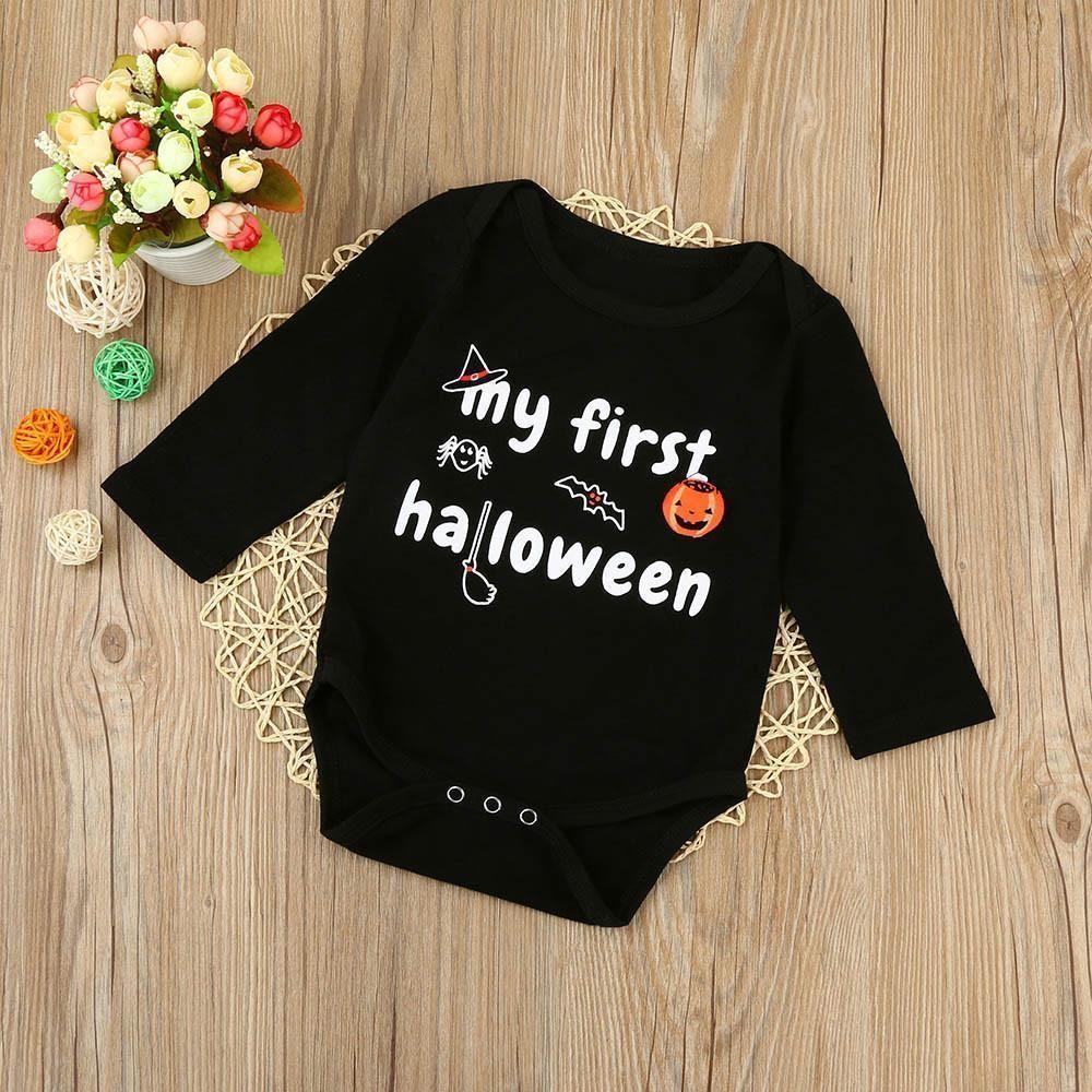 dabc5774d003 My First Halloween Baby Onesie