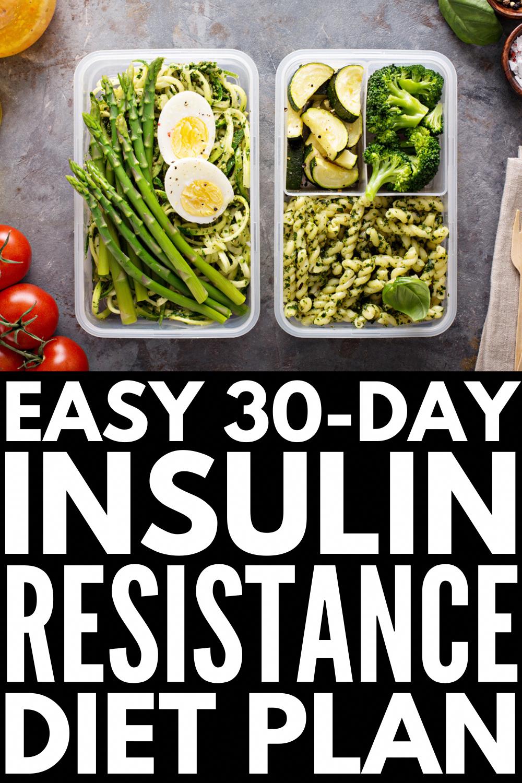 30-Day Insulin Resistance Diet Plan