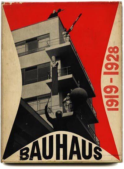 Bayer, Gropius & Gropius: BAUHAUS 1919 – 1928. Museum of Modern Art, 1938. With MoMA Ephemera Laid In