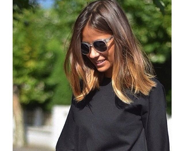 Healthy Hair Styles: Healthy Mid Length Ombre Hair …
