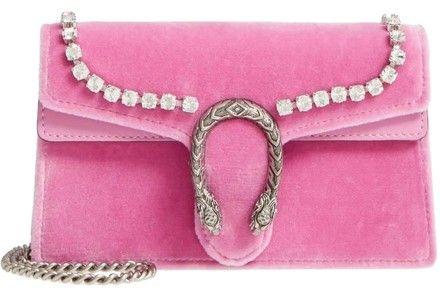 a21642db4fb Gucci Dionysus Marmont Gg Super Mini 2.0 Clutch Pink Velvet Shoulder Bag.  Get one of the hottest styles of the season! The Gucci Dionysus Marmont Gg  Super ...