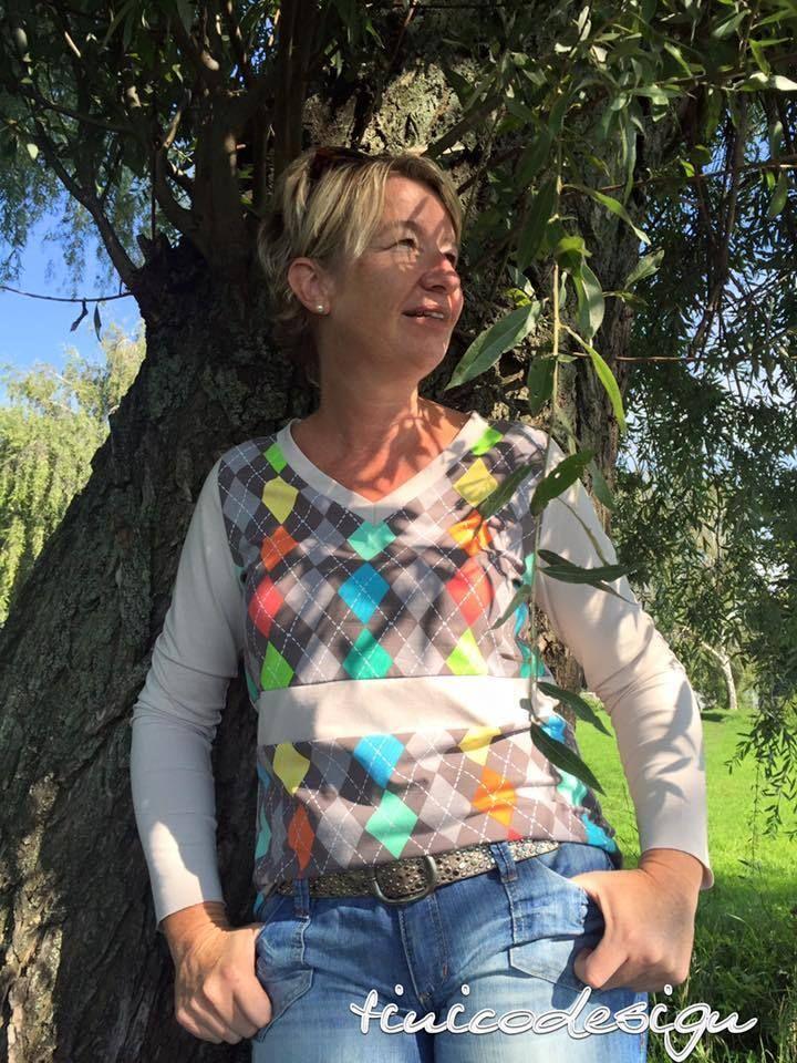 Schnittmuster / Ebook lillesol women No.10 Longsleeve / Nähen Shirt ...