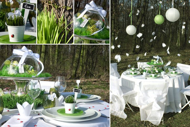D Corations D 39 Ambiance Table Mariage Printanier E Mariage Printanier Pinterest