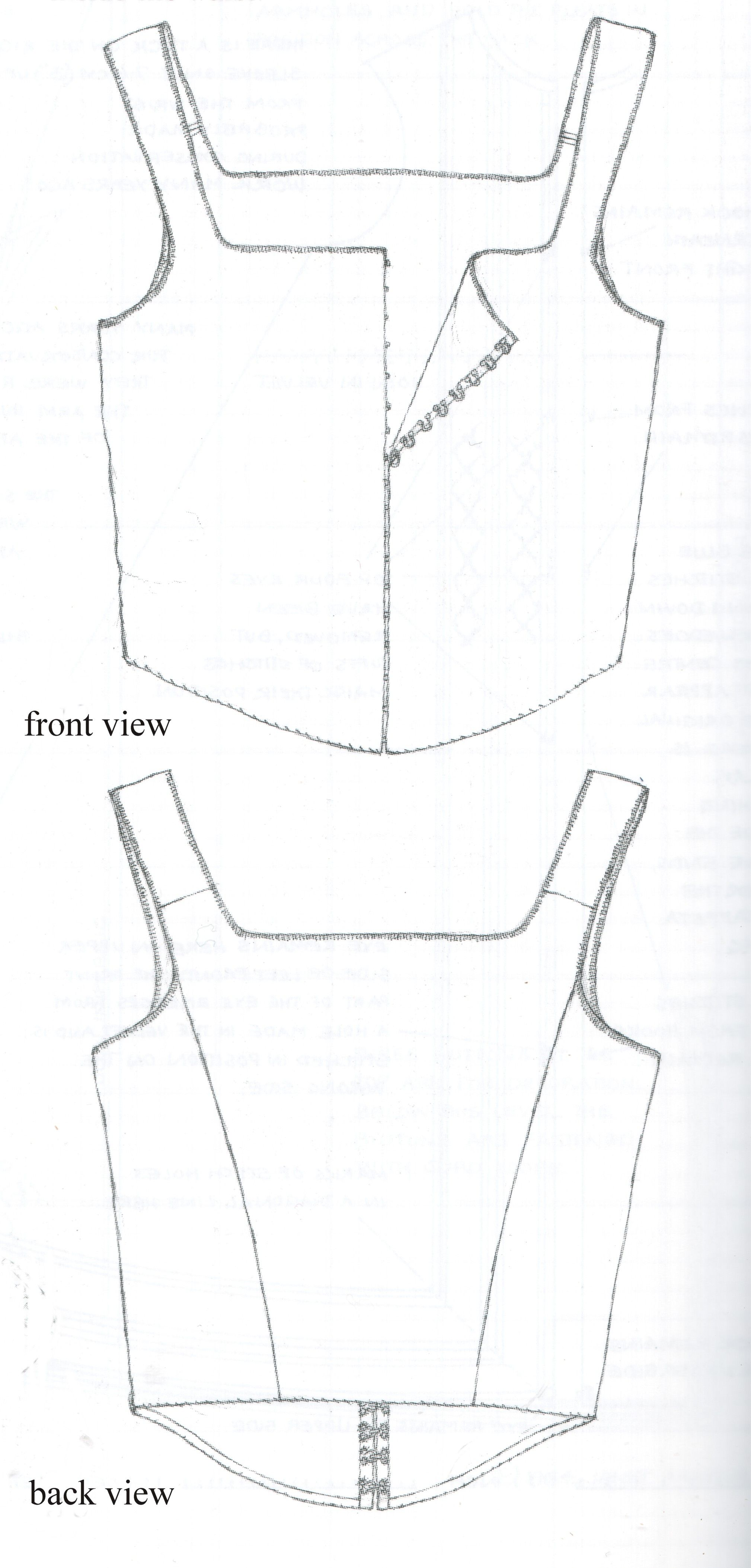 This shows proper seam placement. the shoulder seam is NOT at the ...