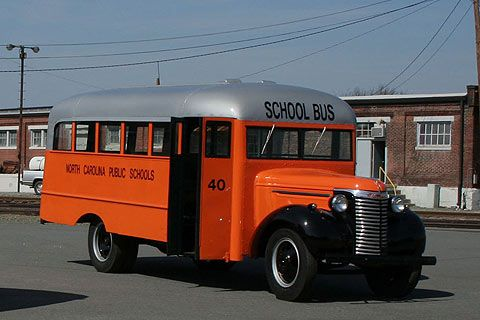 1940s School Bus Bing Images With Images School Bus