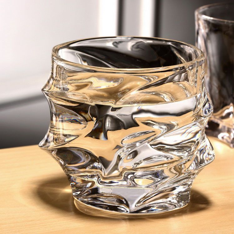 Carved Crystal Glass Cup!