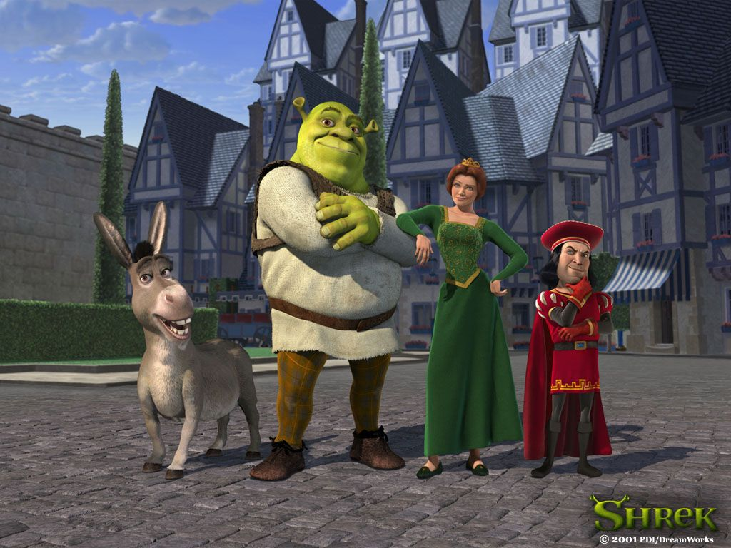 Comparative And Superlatives One More Time Shrek Character Shrek Childrens Movies