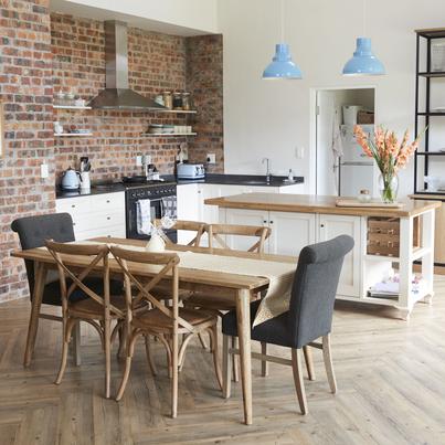 Zestaw Mebli Kuchennych Aspen W Wersji Bialo Debowej Leroy Merlin Kitchen Cabinets Home Decor Kitchen