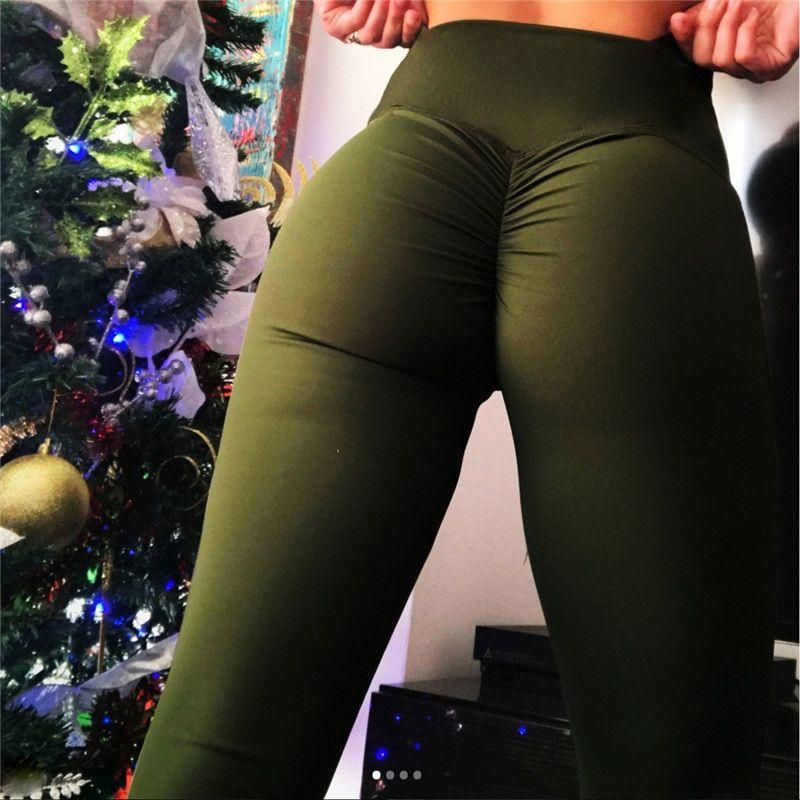 d08c8ad1edd65 Oberlo - NORMOV High Waist Fitness Leggings Women Push Up Workout Legging  with Pockets Patchwork Leggins Pants Women Fitness Clothing