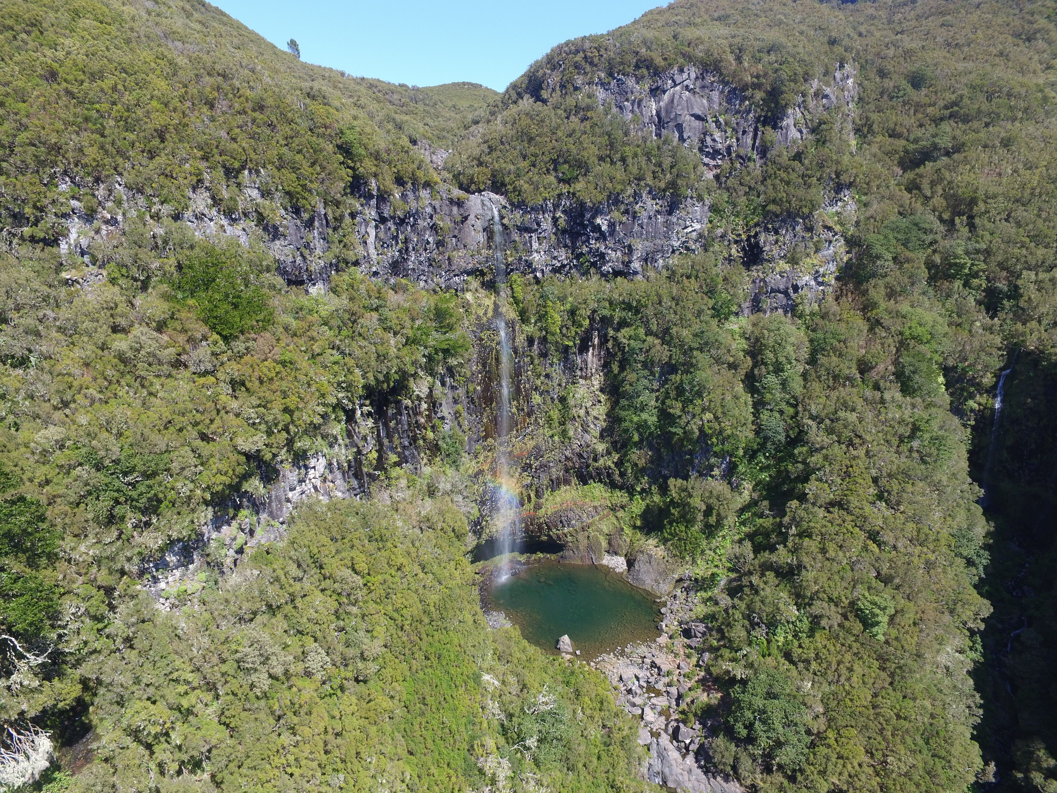 Cascata do Risco - Risco Waterfall