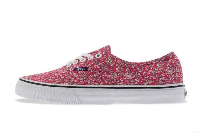 a77a2ca2bf Sneaker Fiend Mag  Vans X Liberty Of London Art Fabrics Pack ...