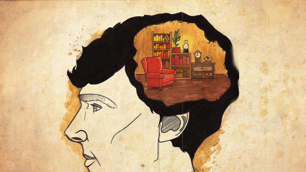 Sherlock Holmes and his memory palace  (Oakley, Barbara