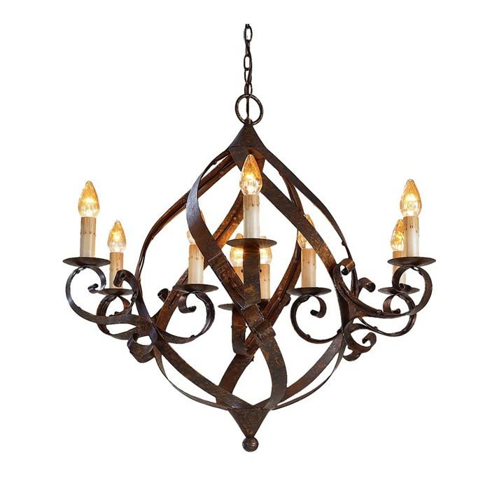 Wrought Iron Chandeliers Rustic – Chandeliers Wrought Iron