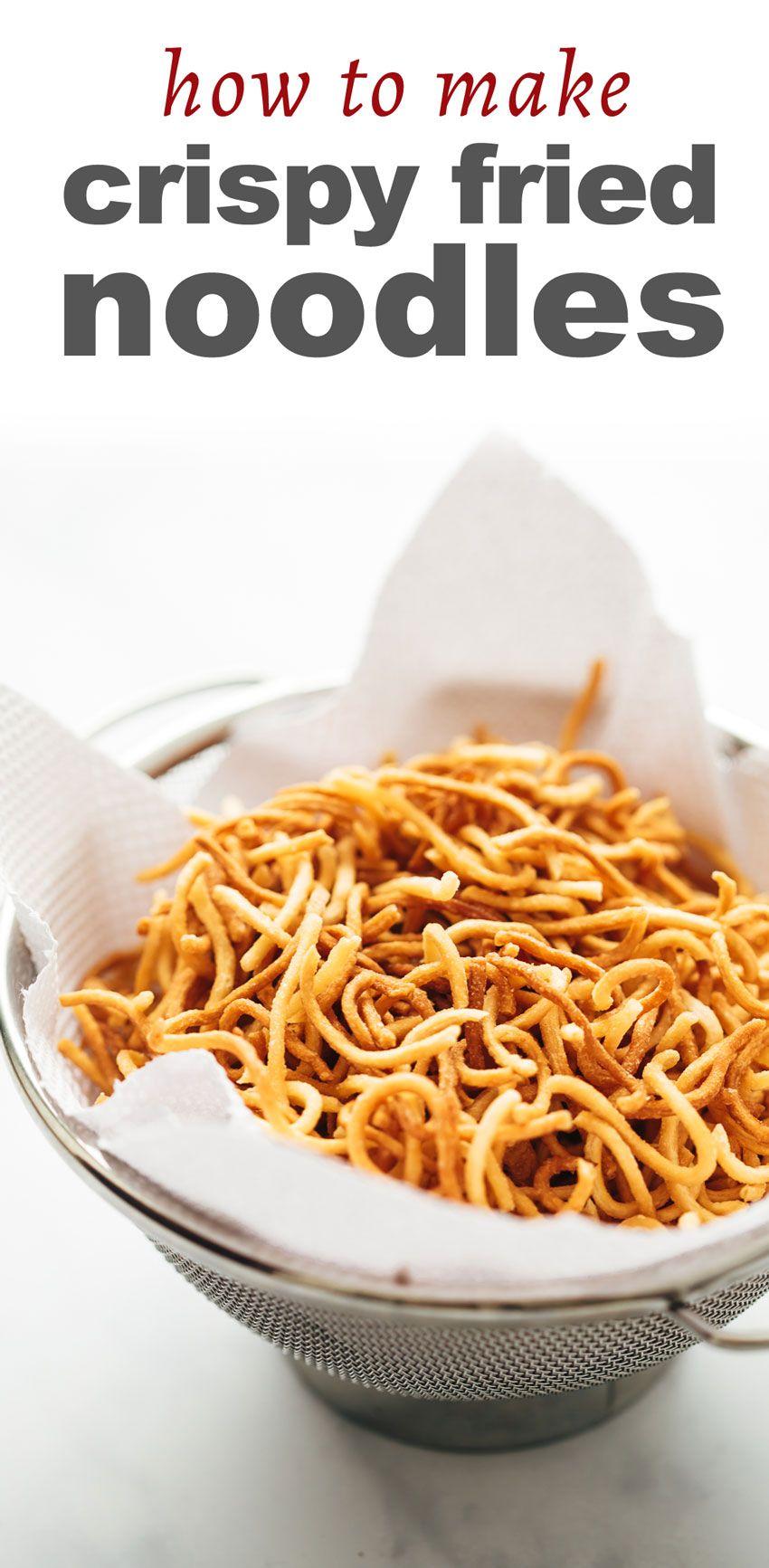 How To Make Crispy Fried nudler At Home Opskrift Mad-9091