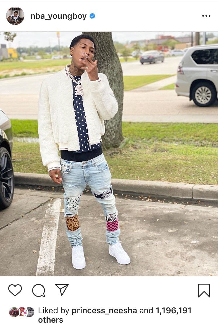 Some years ago a King 👑 was born nbayoungboy and his