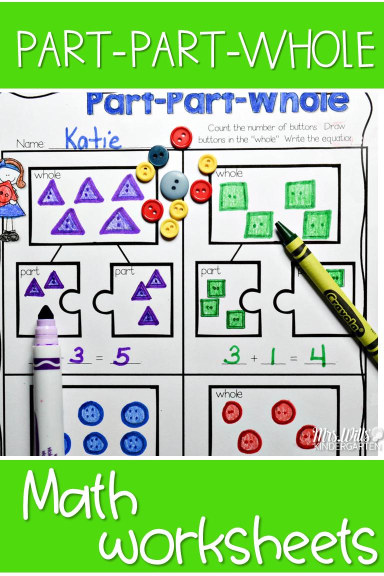 Kindergarten Math Supplement UNIT 4 | Addition activities, Math and ...