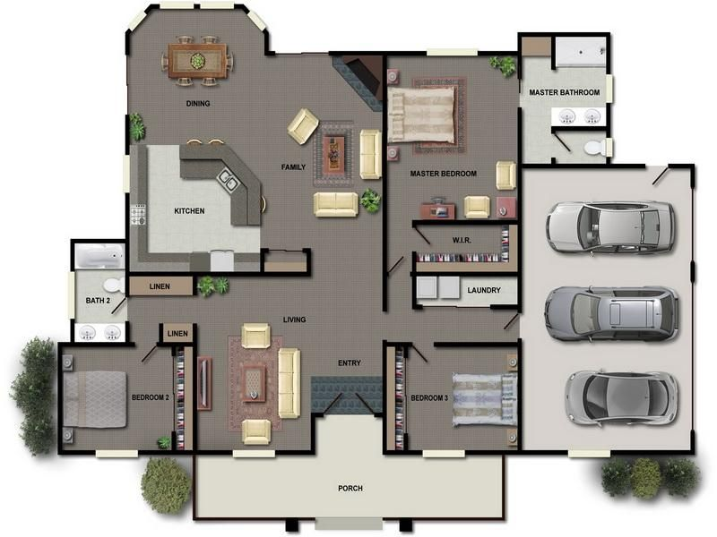 Great Floor Plans For Small Houses Interior Design Giesendesign House Plans House Blueprints Small House Plans