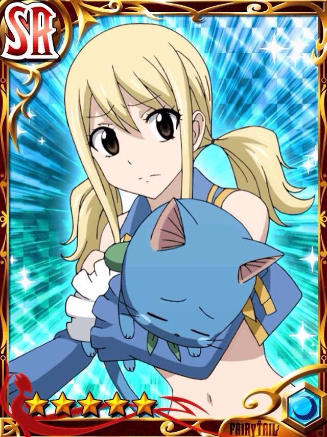 Fairy tail cards- Lucy | Fairy Tail Gree cards | Fairy tail