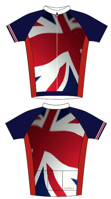 1e98171e7 Classic looking Great Britain cycle jersey. Perfect for men