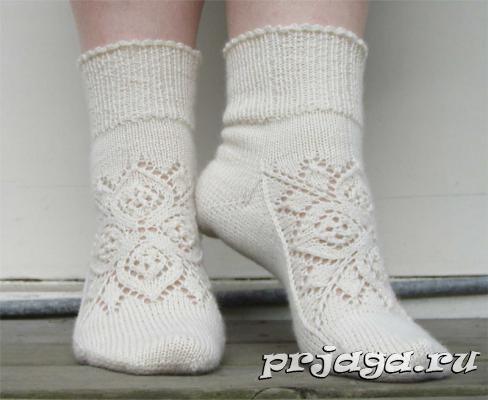 Вязание варежек и носок спицами 100